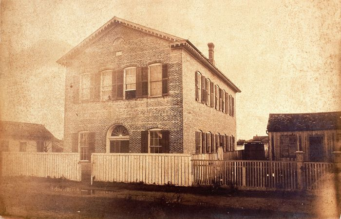 The Barnes Institute was the first school for African-Americans in Galveston .