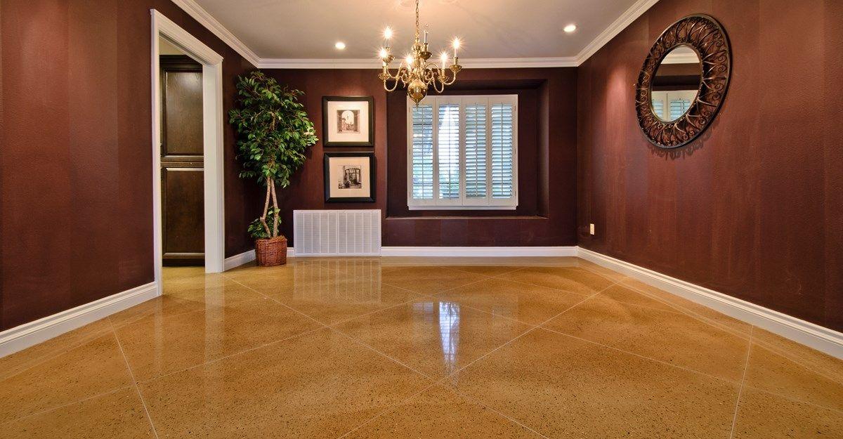 Interior Concrete Overlay | Flooring Epoxy | Pinterest | Concrete ...