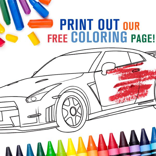 Need new coloring activities for the kids? Download our free Nissan ...