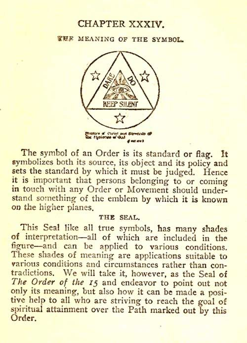 A Little Introduction To The Symbols And Seals Incorporated By