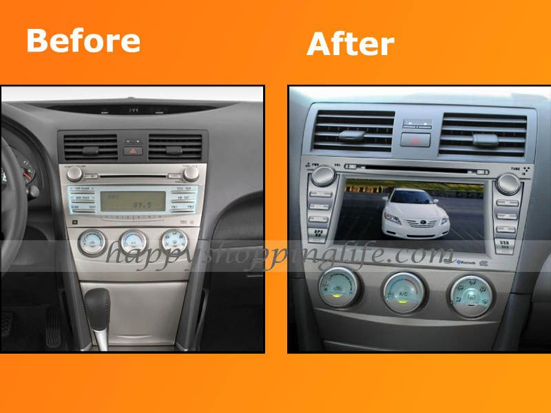 Car Dvd Gps Radio Navigation 8\ Player For Toyota Camry 2007 2008 Rhpinterest: 2006 Toyota Camry Radio At Elf-jo.com