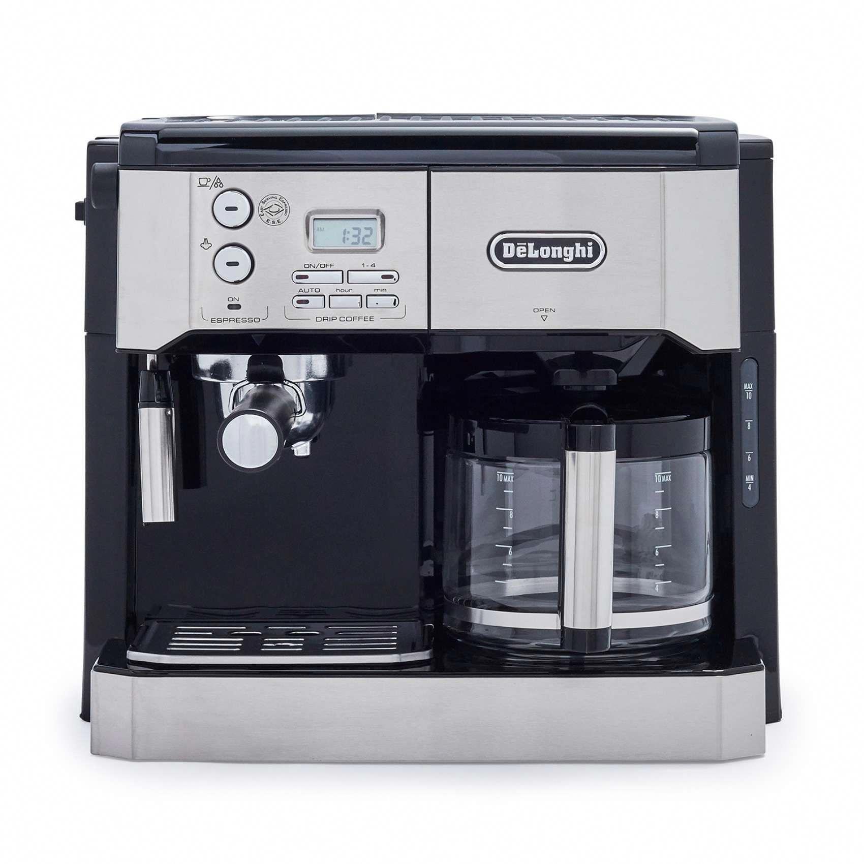 Deulonghi combination pump espresso and cup drip coffee machine