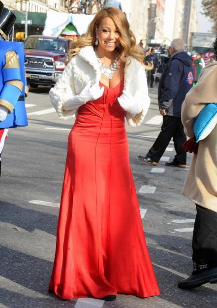 Mariah, bist du's? La Carey hat schwer abgespeckt.