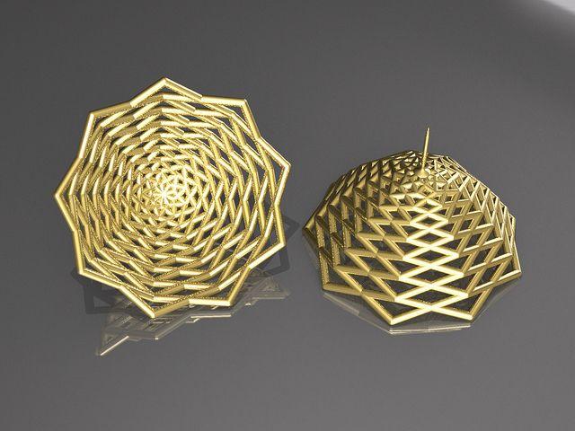 BAD-042  BAW52/9 Parabolic Gold Version by NODEFORM, via Flickr