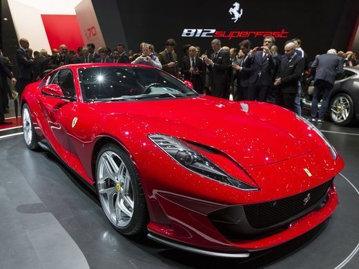 The hottest new vehicles we've seen so far at the Geneva auto show #newferrari