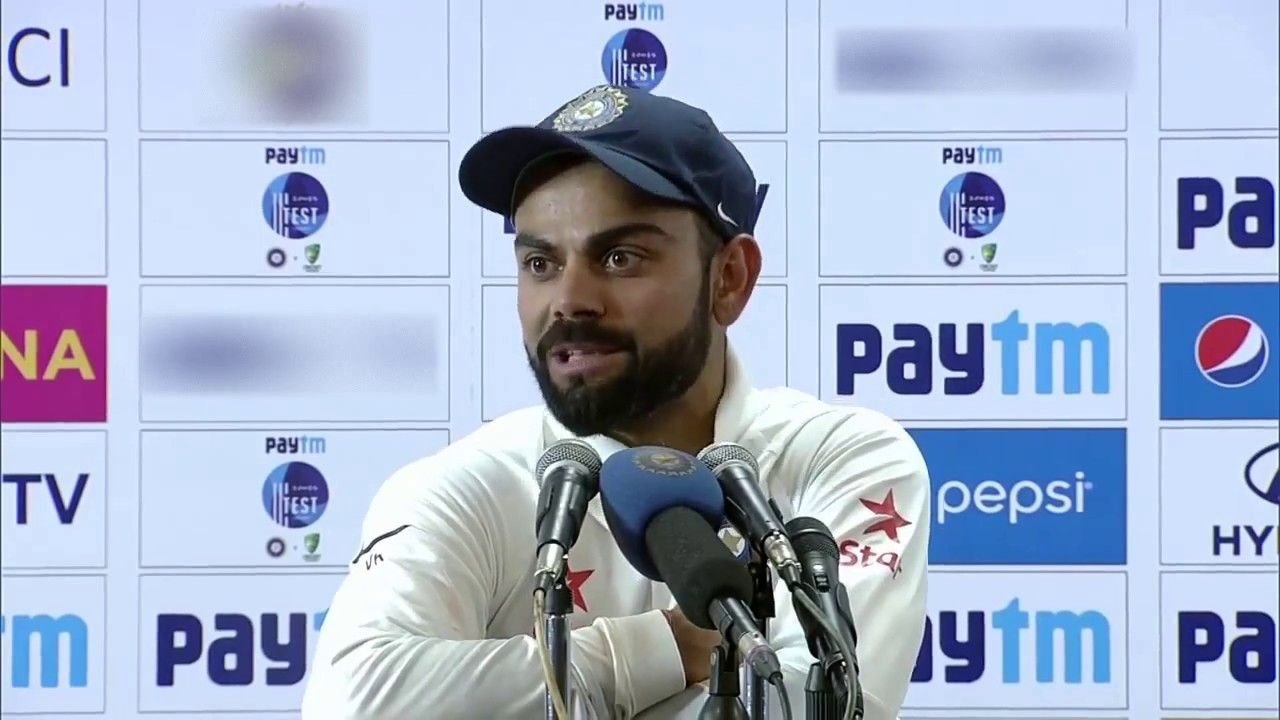 Indian Captain Virat Kohli, who skipped the final test match due at Dharamshala due to a shoulder injury, said that he no longer considers Australian cricketers his friends. He said while addressing the media after winning the 4-test match series with 2-1. Virat Kohli said that his friendship with the Australian cricketers has been changed after the series.