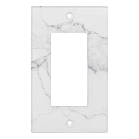 Marble Light Switch Cover Zazzle Com In 2020 Light Switch Covers Light Switch Plate Cover Switch Covers