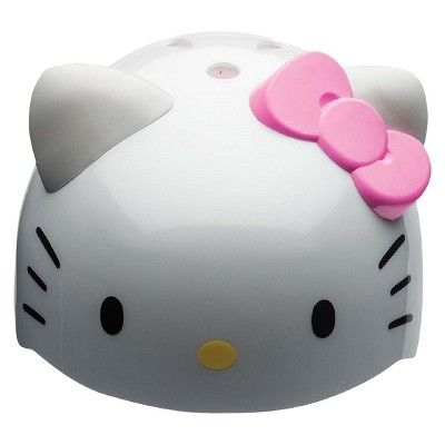 Hello Kitty 3D Ears and Bow Toddler Helmet - White/Pink