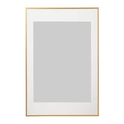 """LOMVIKEN Frame goldcolour 24x35 ¾ """" (61x91 cm) in 2020"""
