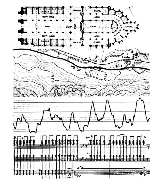 The Architecture Of The Ear And The Design Of Soundscapes Graphic Score Design Architecture