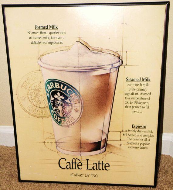 Starbucks Coffee instore Wall Art | Starbucks coffee, Starbucks and ...