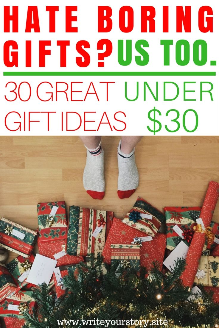 30 Cool Gift Ideas Under 30 For Him Her Write Your Story Christmas Gifts For Adults Christmas Gift Exchange Unisex Christmas Gifts
