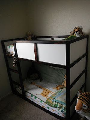 Diy Ikea Toddler Bunk Bed So Darn Cute And They Did It For Around