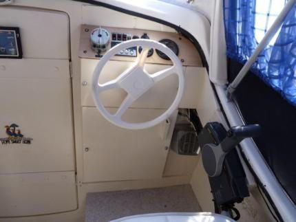 kaj tboot motorboot mayland marine 60ps au enborder u. Black Bedroom Furniture Sets. Home Design Ideas
