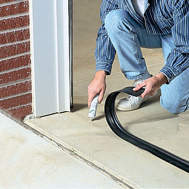 Garage Door Threshold Seal 10 Ft In 2020 Garage Door Seal Garage Door Threshold Garage Door Threshold Seal