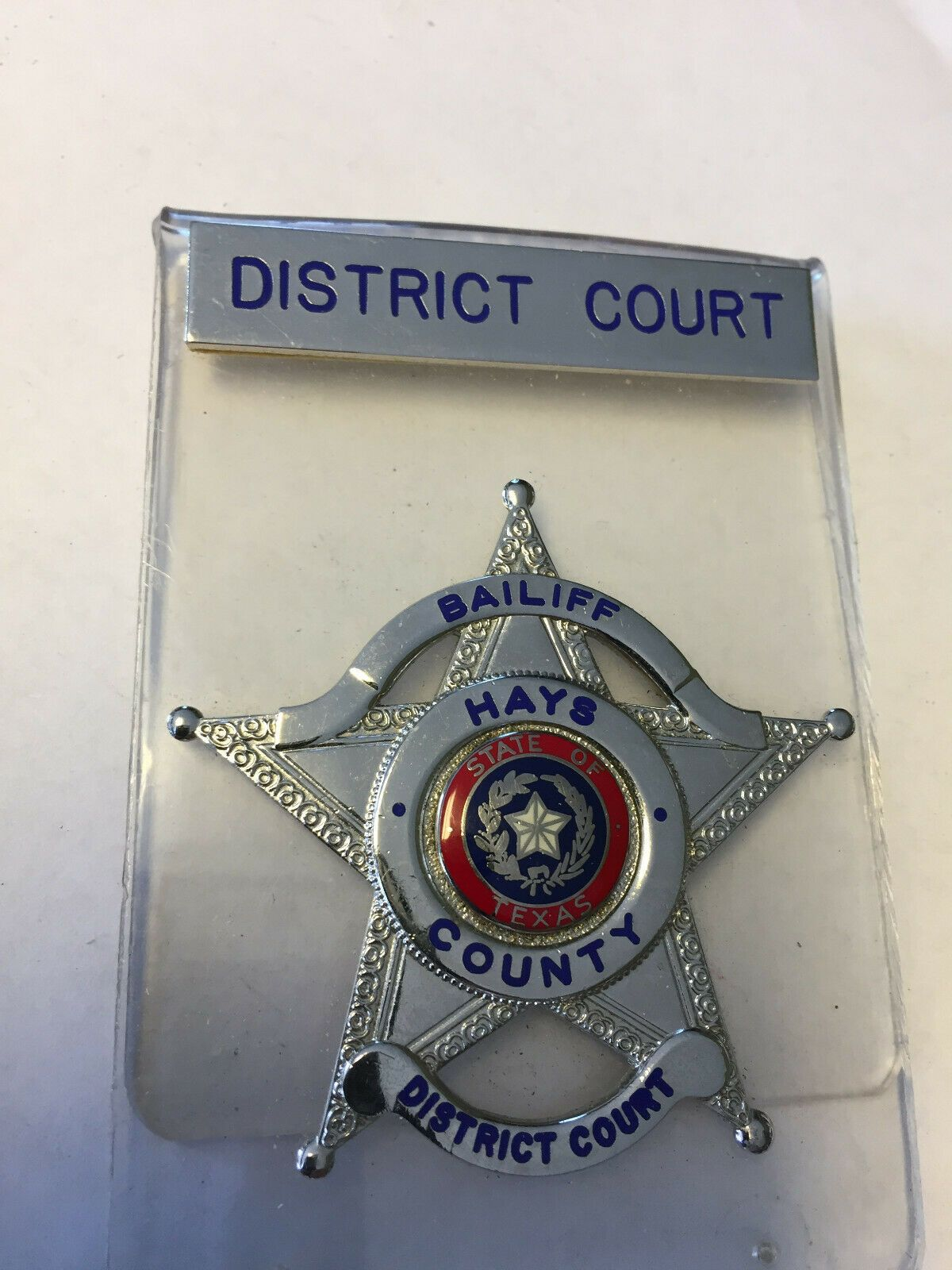 Bailiff, Hays County District Court, Texas | badges | Police
