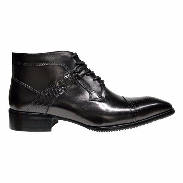 mens formal black boots