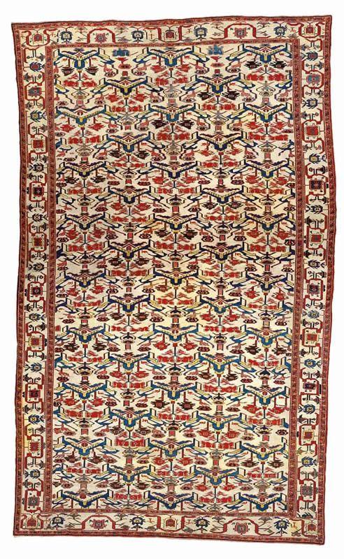 Persian Rugs Guide To Sarab And Serapi Carpets A Northwest Persia Azerbaijan 2nd Half 19th Century