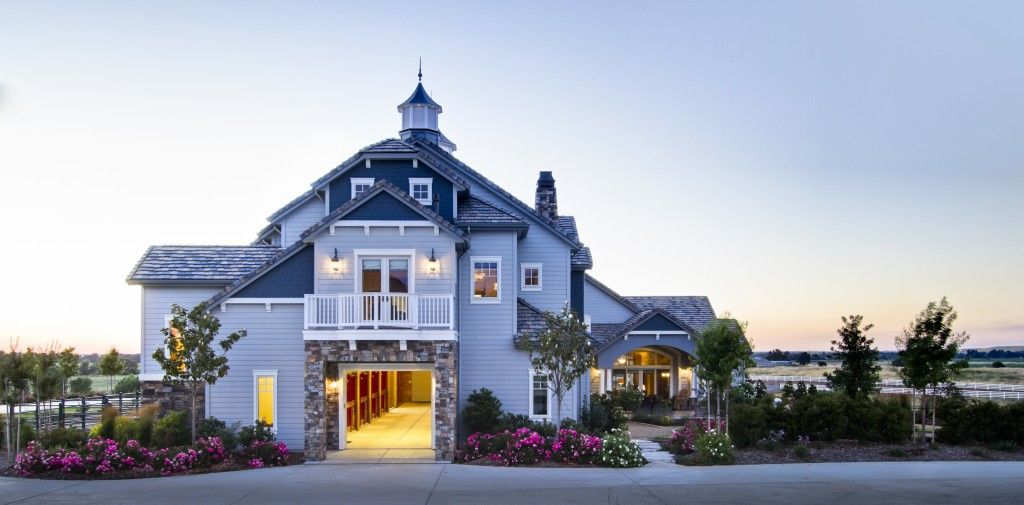 Custom horse barn with living quarters above   Horse barns ...