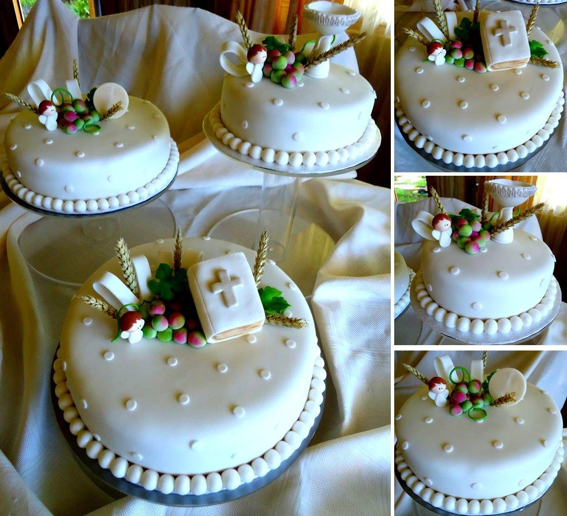 Pin De Cakes Vanilla En Queques Niños Pastel Primera Comunion Tartas Religiosas Torta Primera Comunion