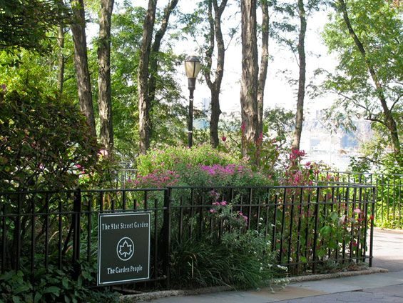 Park From The Memorable Ending Of Youu0027ve Got Mail. 91st Street Garden,
