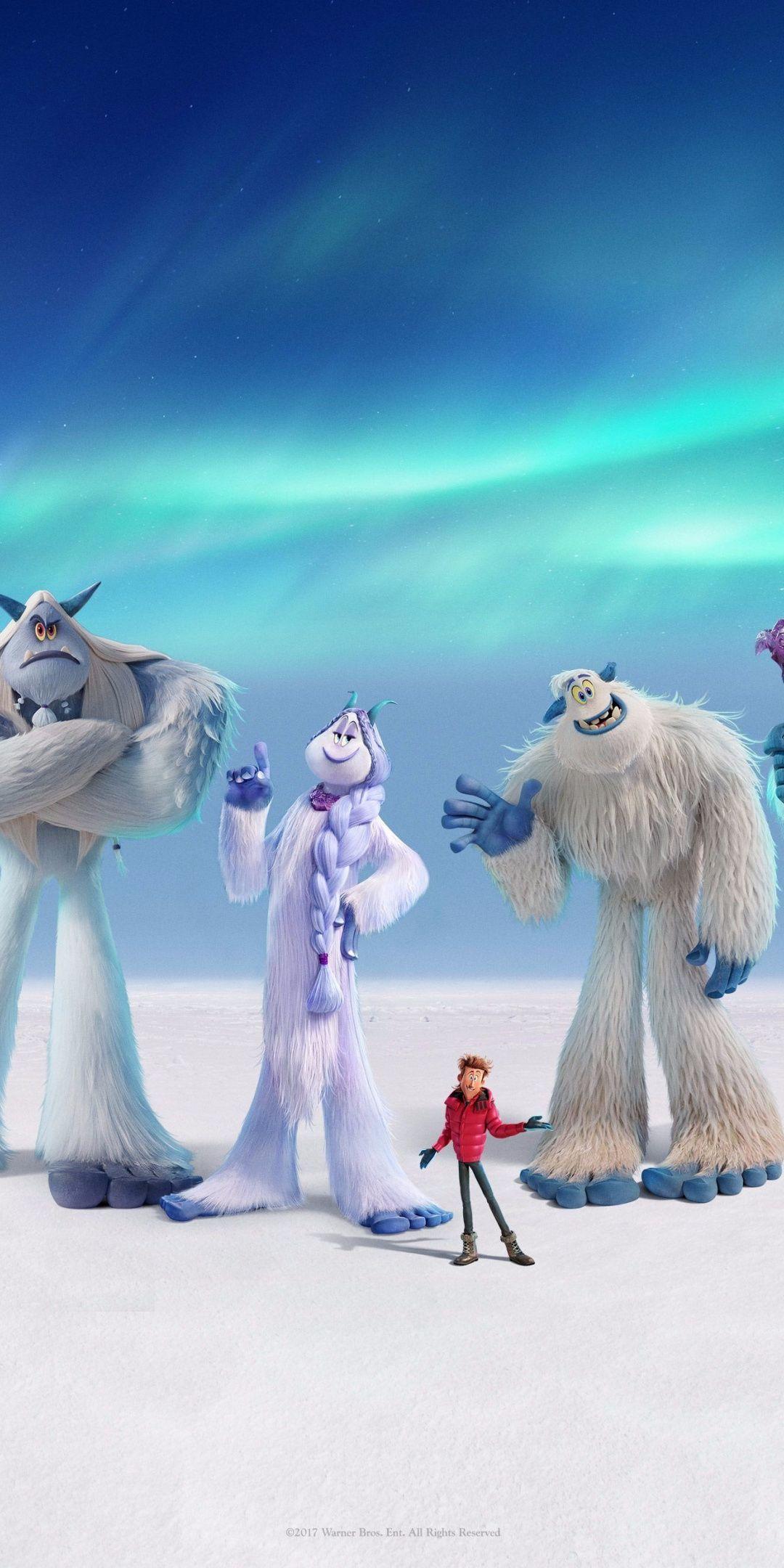 Smallfoot, animation movie, 2018, 1080x2160 wallpaper