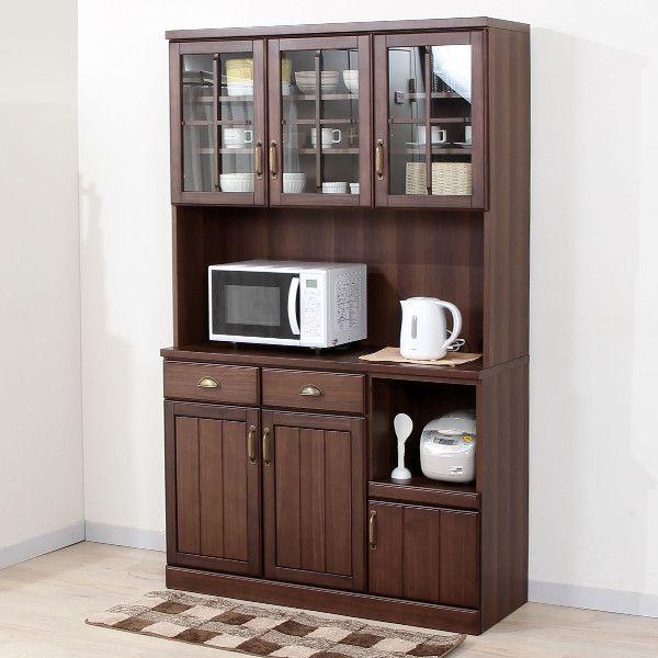 キッチンボード ミランダ120 Wh インテリア 家具 食器棚 ニトリ