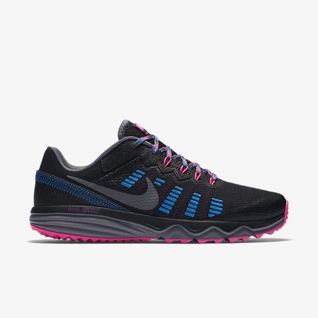Nike Dual Fusion Trail 2 Entspannt Laufen Weich Und Stutzend Gezielte Dampfung Geschmeidiges Laufgef Womens Running Shoes Large Size Womens Shoes Shoes