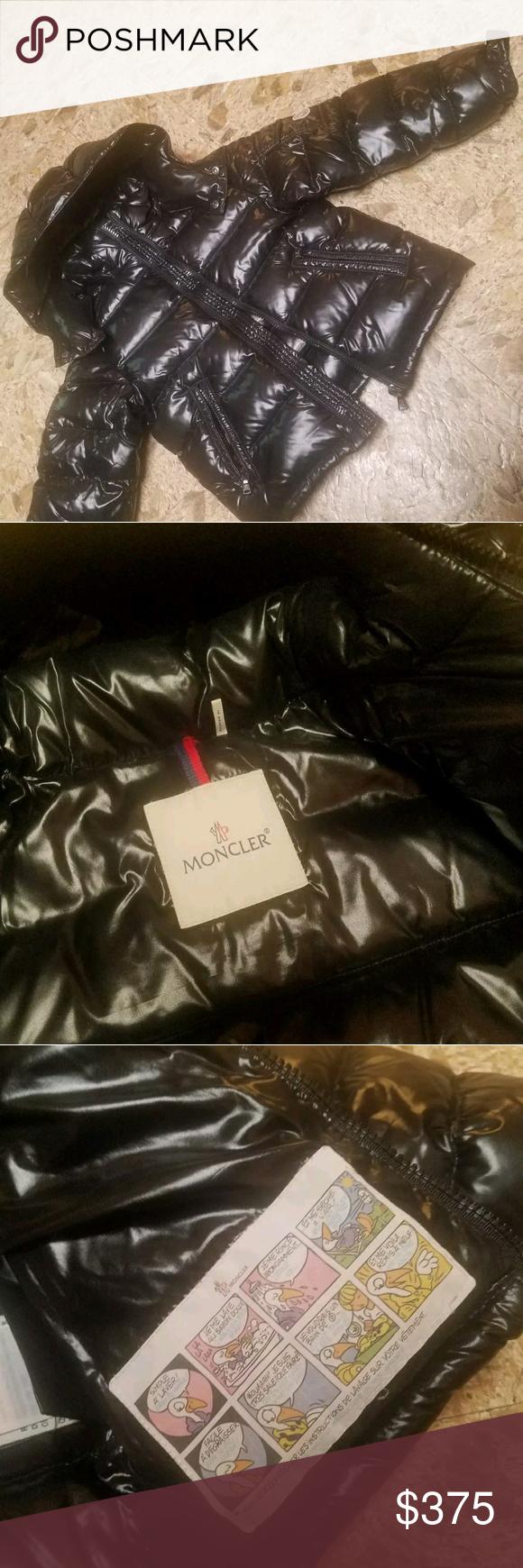 moncler jacket size 6