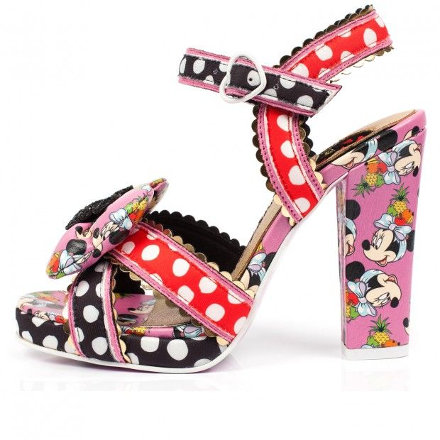 Irregular Choice x Disney Mickey Mouse Platform Pump Limited Edition