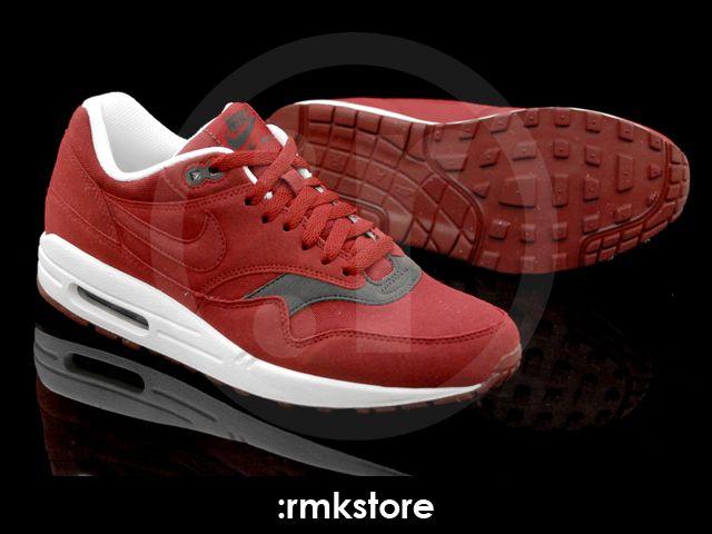 149d5b4e9013 Nike Air Max 1 Team Red Velvet Brown - RMKstore