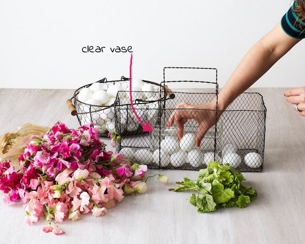 Easter basket centerpiece diy tulipina easter ideas pinterest easter basket centerpiece diy tulipina negle Images