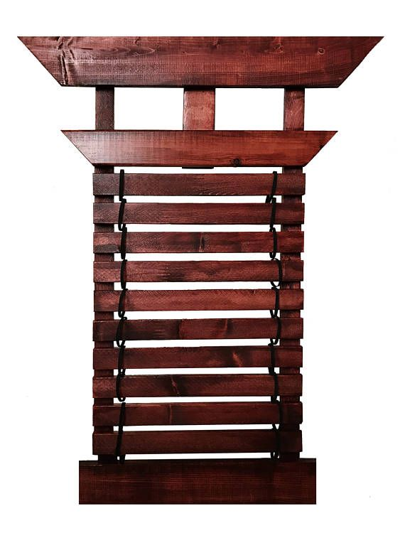 This is a 10 belt wall display unit for Karate, Taekwondo