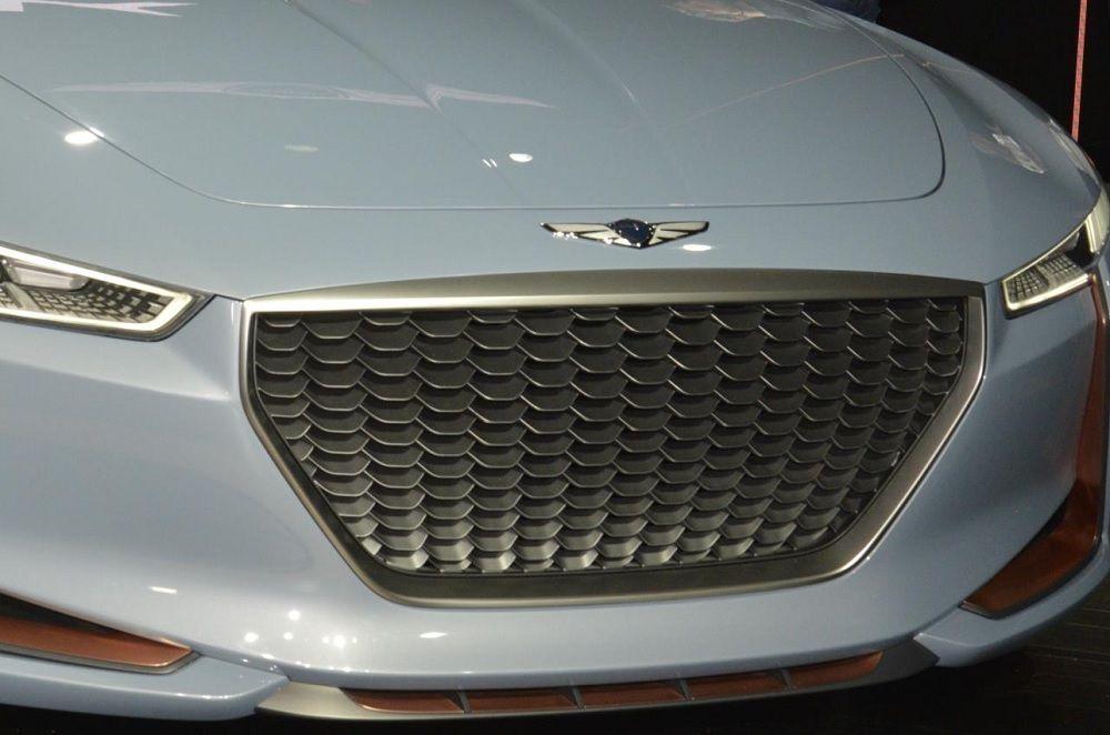 Frankfurt Debut Likely For Genesis G70 Mercedes Benz Mercedes Benz Logo Premium Cars
