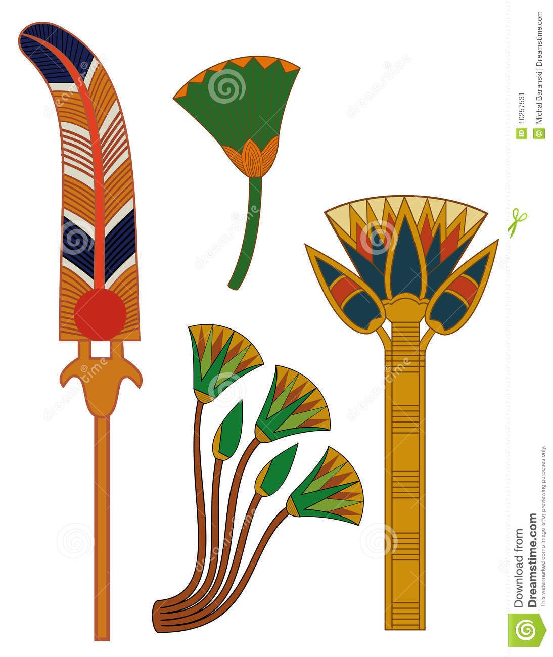 Ancient egyptian lotus egypt ornament lotus flowers stock image ancient egyptian lotus egypt ornament lotus flowers stock image image 10257531 mightylinksfo