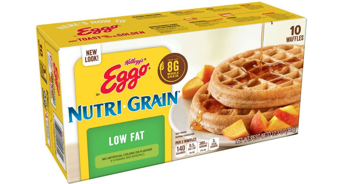 Eggo NutriGrain Waffles ONLY 2.23 at Walmart Just use