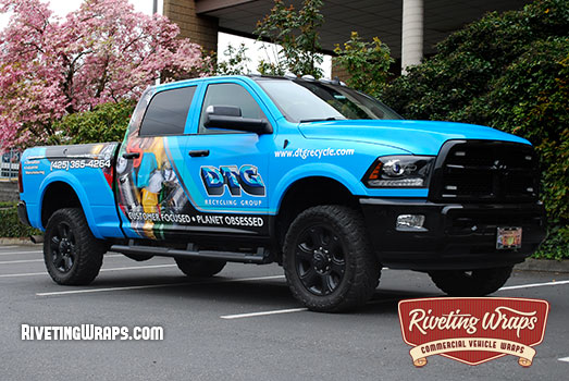 Nevada Pick-Up Truck Tailgate Wraps