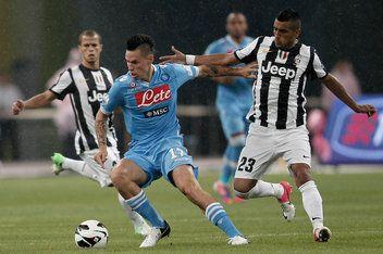 Juventus Naples Les Compositions Www Europafoot Com