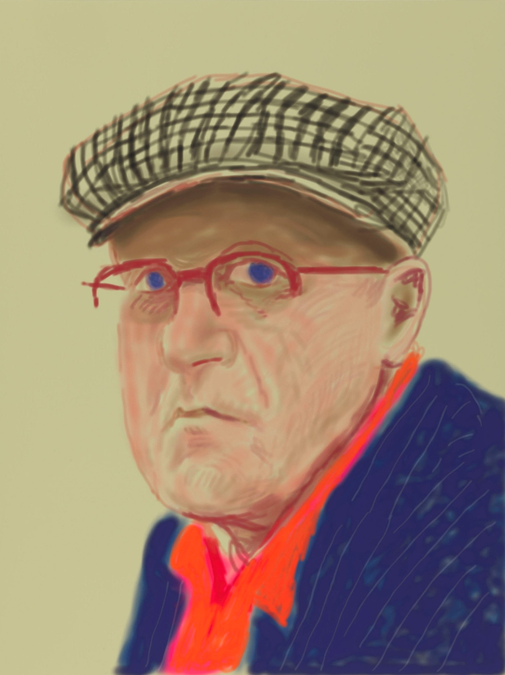 David Hockney's Life in Drawing