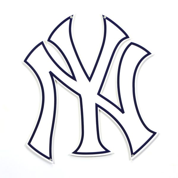New York Yankees 12 Steel Sign New York Yankees Logo New York Yankees Yankees Logo