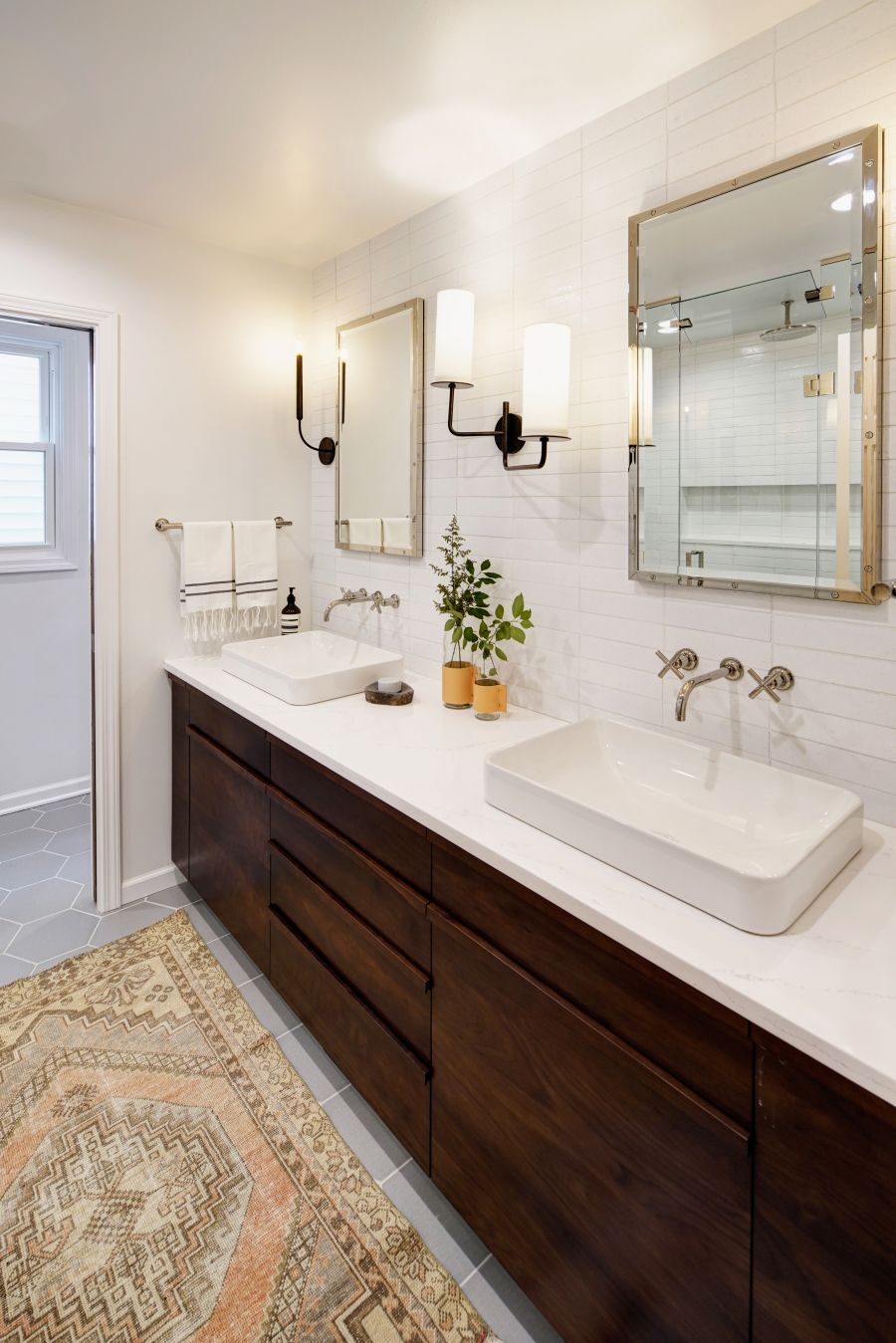 Crafting an Open + Airy Bathroom Retreat without Changing ...