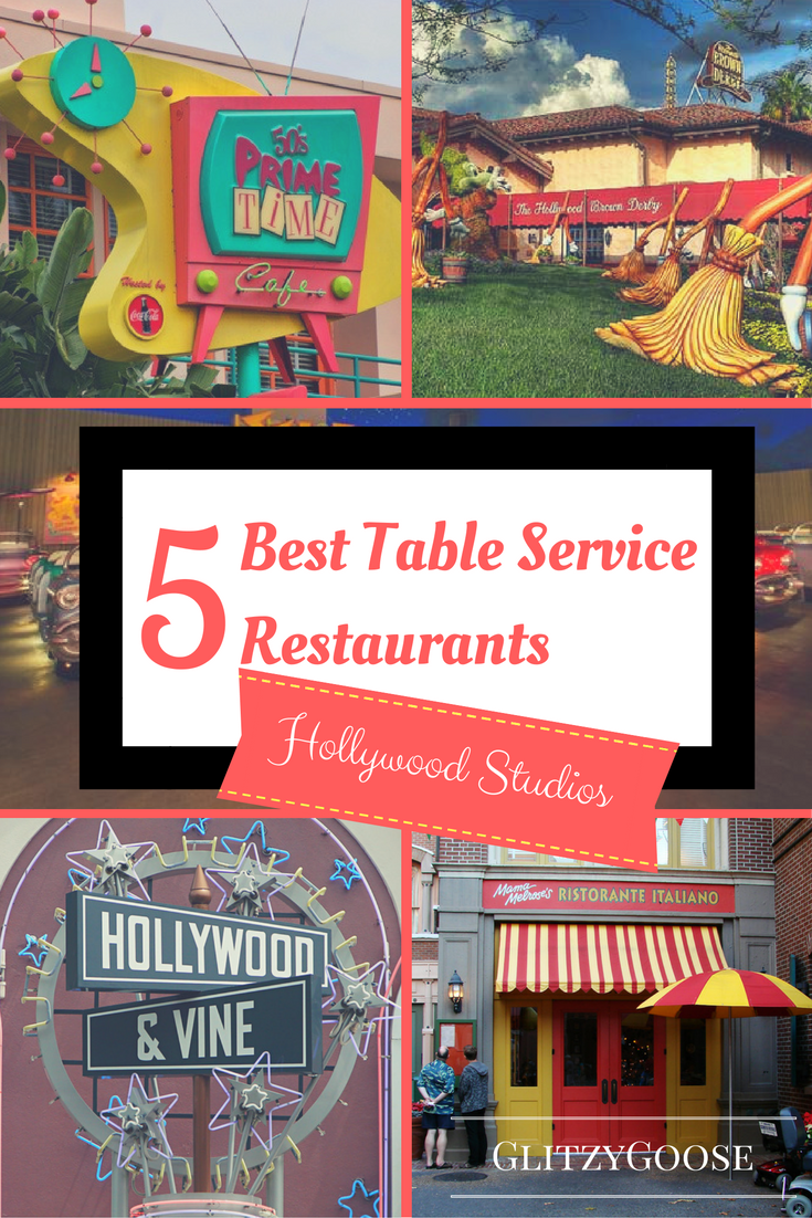 5 Best Table Service Restaurants At Hollywood Studios