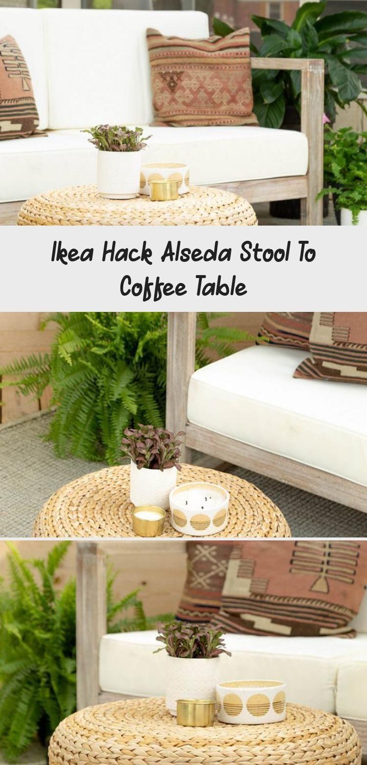 Ikea Hack Alseda Hocker Zum Couchtisch Kaffee Coffee Table Decorating Coffee Tables Ikea Hack [ 1560 x 750 Pixel ]