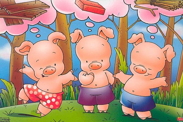 Los 3 Cerditos Buscar Con Google Little Pigs Fairy Tales Three Little Pigs