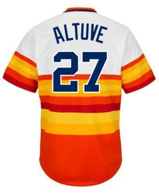 the best attitude 3b8b5 eba06 Men's José Altuve Houston Astros Cooperstown Player Replica ...