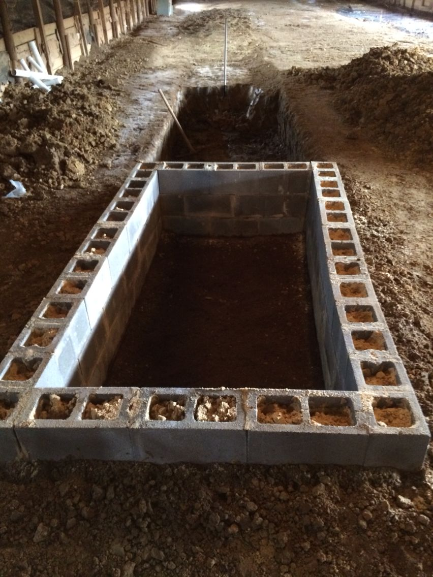 new worm bins under construction at worm pal worm farm