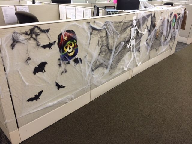 images of office cubicles halloween decorations google search - Office Halloween Decor