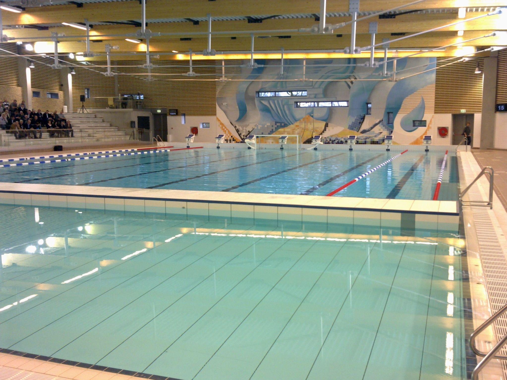 zwembad waar we heen gaan met trainingskamp