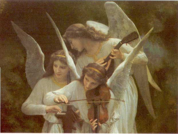 Image result for pictures of angels playing instruments