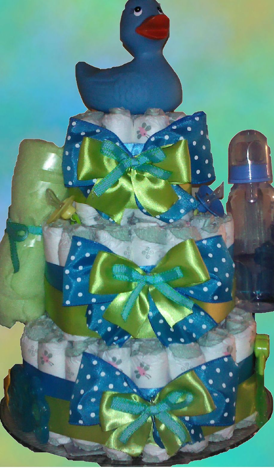 Is someone expecting a Baby Boy? #FREESHIPPING on this Little Dude Diaper Cake! https://www.facebook.com/premiergiftsolutions?v=app_135607783795